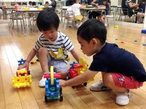 2才児自由遊び