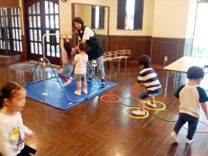 2才児サーキットトレーニング